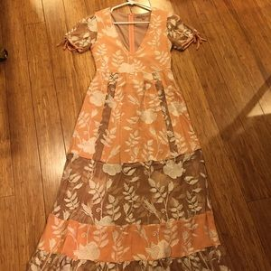 For Love and Lemons Maxi dress